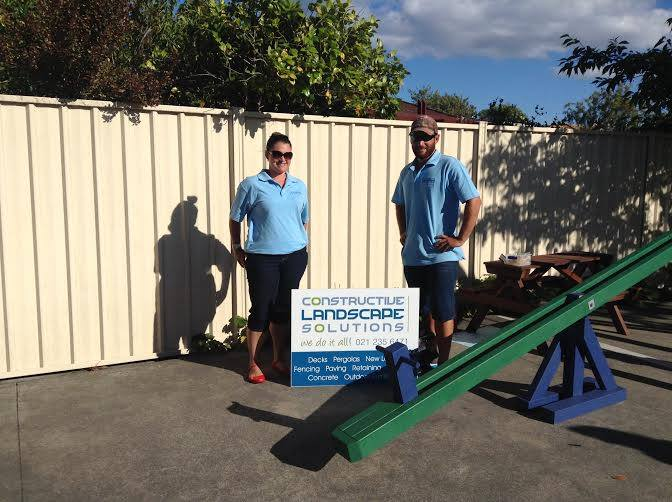 The team at Constructive Landscape Solutions servicing Hawkes Bay