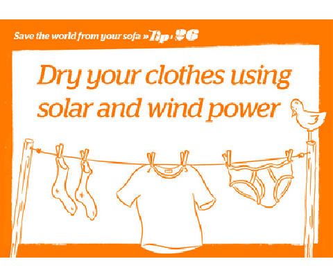 Energy Saving Tip - Dryer