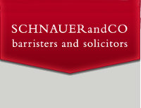 Schnauer and Co Barristers and Lawyers