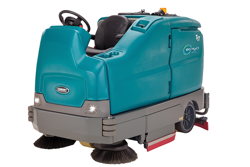T17 Large Ride-On Scrubber