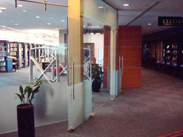 Glass Shopfront Doors