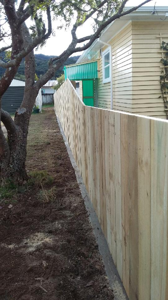 Residential Boundary Fence