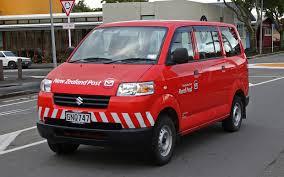 NZPost Delivery Van
